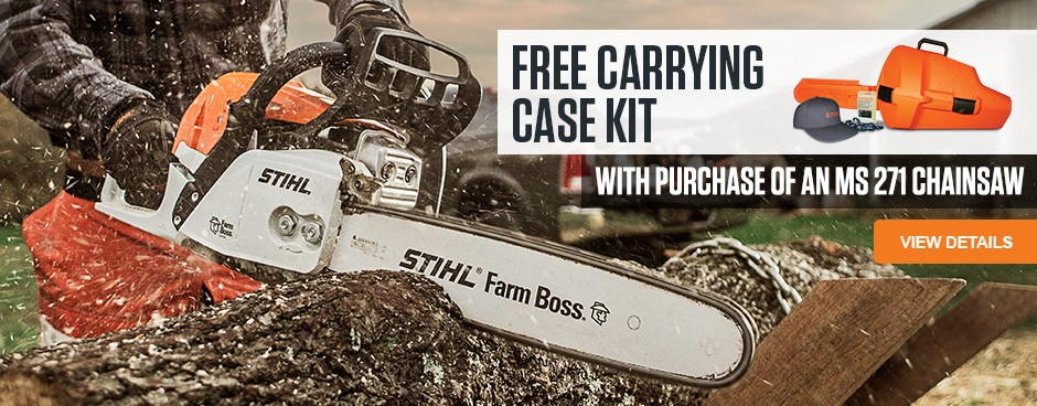 Free Carrying Case Kit!